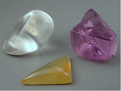how to tell real gemstones from glass